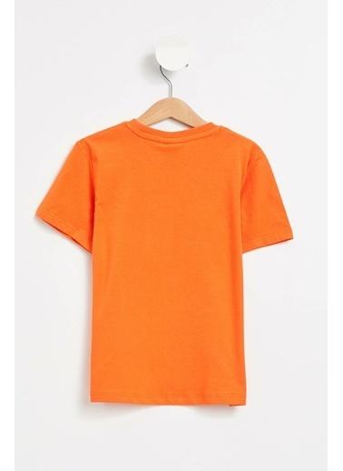 DeFacto Tişört Oranj